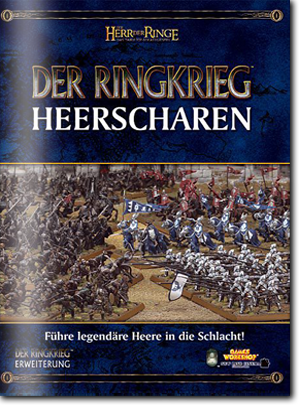 Regelbuch Heerscharen von Games Workshop